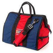 American Duffle - Weekender Navy & Red Duffle Bag