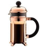 Bodum - Chambord Copper Original Coffee Plunger 3 Cup