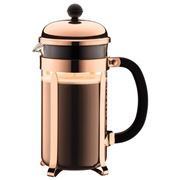 Bodum - Chambord Original Coffee Plunger Copper 8 Cup