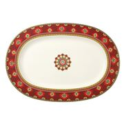 V&B - Samarkand Rubin Oval Platter