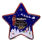 Walkers - Pure Butter Shortbread Star Tin 200g