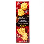 Walkers - Pure Butter Festive Shapes Shortbread Tin 250g