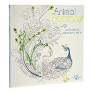 Book - Animal Fantasy Anti-Stress Colouring Book