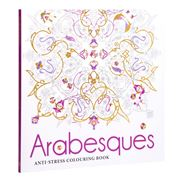 Book - Arabesques Anti-Stress Colouring Book
