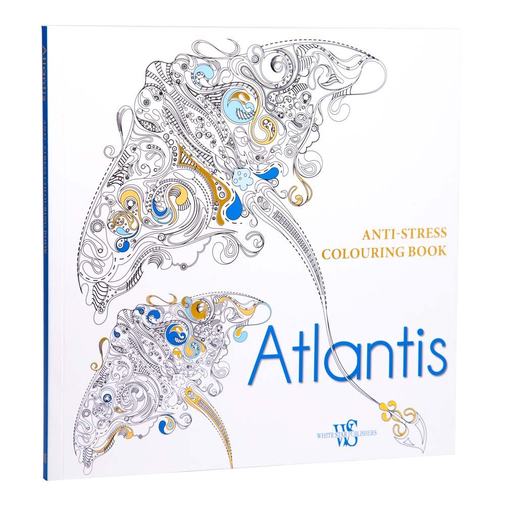 book atlantis anti stress colouring book peters of kensington - Anti Stress Coloring Book