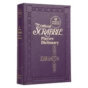 Graphic Image - Scrabble Players Platinum Edition Dictionary
