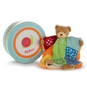 Kaloo - Colours Doudou Bear Patchwork Puppet