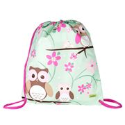 Bobble Art - Owl Drawstring Bag