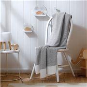 Sheridan - Baby Alexi Platinum Cot Blanket