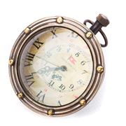 Authentic Models - The Porthole Eye of Time Bronze