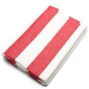 Rans - Alfresco Red Striped Tablecloth 150x260cm
