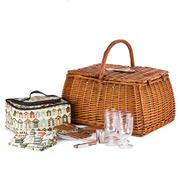 Avanti - Willow Four Person Picnic Basket