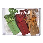 Boz Christmas - Petite Robins Seasonal Chocolate Boxes 3pce