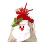 Boz Christmas - Santa's Treats Natural Bag