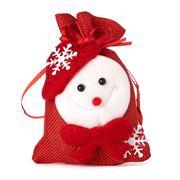 Boz Christmas - Snowman's Treats Red Bag