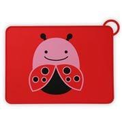 SkipHop - Zoo Fold & Go Ladybug Placemat