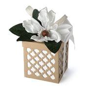 Boz Christmas - White Summer Magnolia Chocolate Box