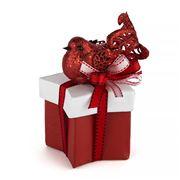 Boz Christmas - Little Red Robin Christmas Star Box