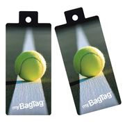MyBagTag - Tennis Ball Luggage Tag Set 2pce