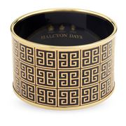 Halcyon Days - Greek Key Bangle Medium