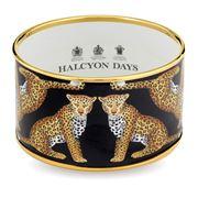 Halcyon Days - Magnificent Wildlife Leopard Medium Bangle