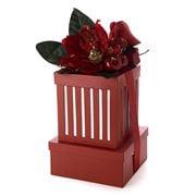 Boz Christmas - Red Christmas 2 Tier Hamper