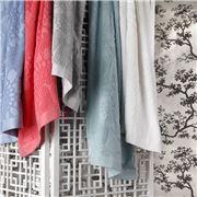 Florence Broadhurst - Japanese Floral Silver Bath Towel