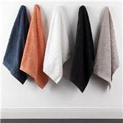 Florence Broadhurst - Circles & Squares Indigo Bath Towel