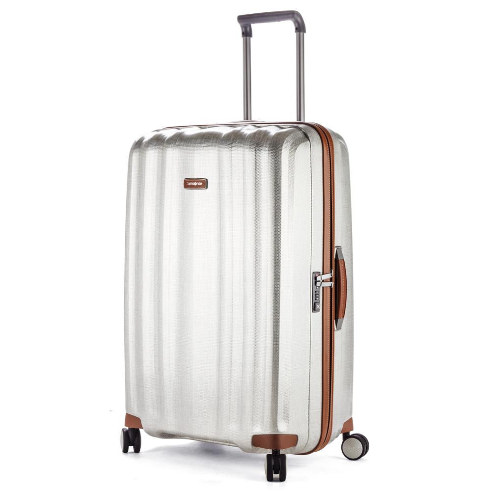 b02803e6dba Samsonite - Lite-Cube DLX Spinner Case Aluminium 82cm   Peter's of ...