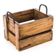 Ethos - Reclaimed Wood Small Storage Crate