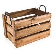 Ethos - Reclaimed Wood Medium Storage Crate