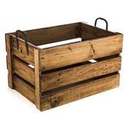 Ethos - Reclaimed Wood Large Storage Crate