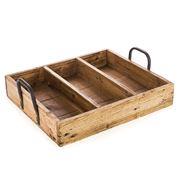 Ethos - Reclaimed Wood Cutlery Tray