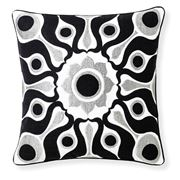 Florence Broadhurst - Solar Black Cushion 45cm