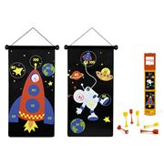 Scratch - Magnetic Astronauts Darts Set
