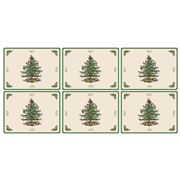 Pimpernel - Christmas Tree Regular Placemat Set 6pce