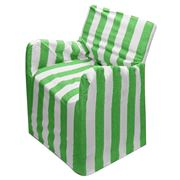 Rans - Alfresco Stripe Director's Chair Cover Lime Green