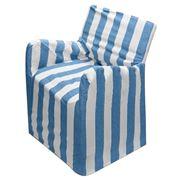 Rans - Alfresco Ocean Blue Stripe Director's Chair Cover