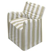 Rans - Alfresco Sand Stripe Director's Chair Cover