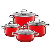 Silit - Passion Red Casserole Set 4pce