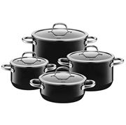 Silit - Passion Black Casserole Set 4pce