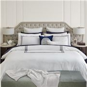 Wedgwood Home - Renaissance Navy Super King Quilt Cover Set