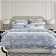 Wedgwood Home - Butterflies Chambray King Quilt Cover Set
