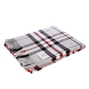 Bronte - Grey Thompson Tartan Throw Rug