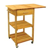 Catskill - Two-Shelf Cart w /Drop Leaf