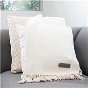 Sferra - Bristol Cream Throw Rug