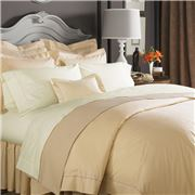 Sferra - Celeste King White Quilt Cover