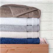Sferra - Bello White Bath Sheet