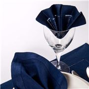 Sferra - Festival Navy Cocktail Napkin Set 4pce