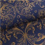 Vandoros - Opulence Indigo & Gold Wrapping Paper